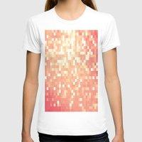peach T-shirts featuring Peach by WhimsyRomance&Fun