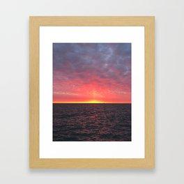 Pillar of Light Framed Art Print