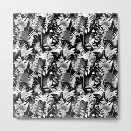 junglecamo mono Metal Print