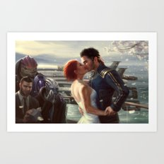 Mass Effect - Wedding Art Print