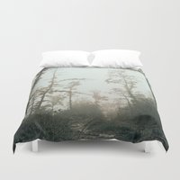 fog Duvet Covers featuring Fog by Chiara Datteri