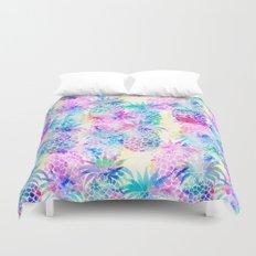 Pineapple Dream Duvet Cover