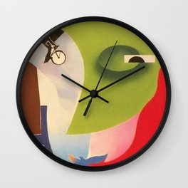 Chasoffart-In the name of life Wall Clock