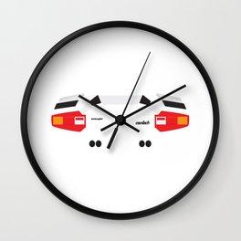 Minimal Countach Wall Clock