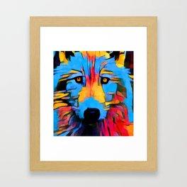 Wolf 4 Framed Art Print