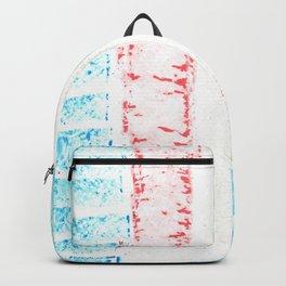transgender stripes 02 Backpack