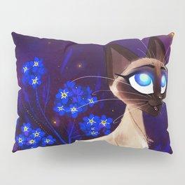 Siamese Cat Pillow Sham