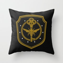 Brakebills embroidered patch - The Magicians Throw Pillow