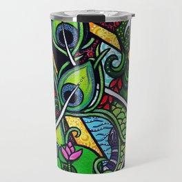 Peacock Paradise Travel Mug