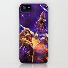 ALTERED Hubble Mystic Mountain- Carina Nebula iPhone Case