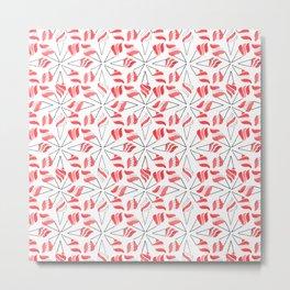 RED CONE / pattern pattern Metal Print