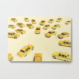22 cabs Metal Print