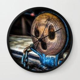 Dead Eye Wall Clock