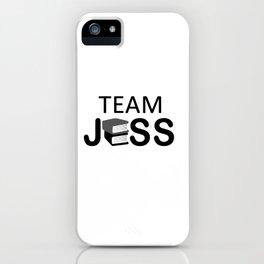 Team Jess iPhone Case
