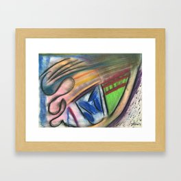 Drainage Framed Art Print