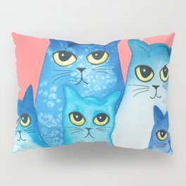 Olympia Whimsical Cats Pillow Sham