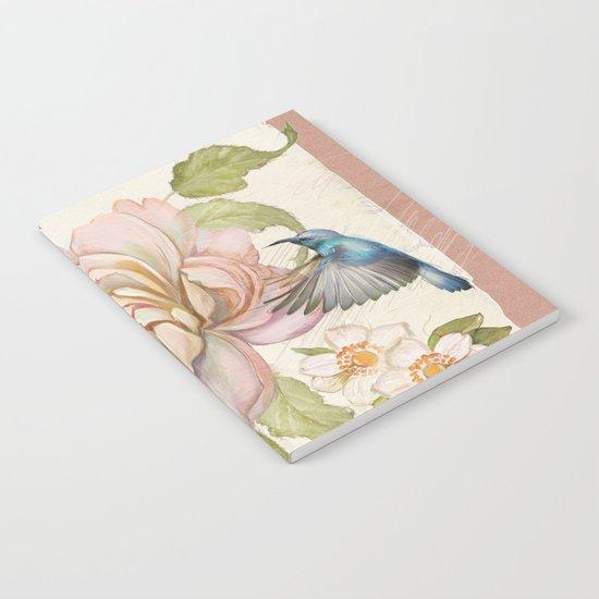 Macro flower #9 Notebook