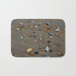 Shades of Shells on the Sand Bath Mat