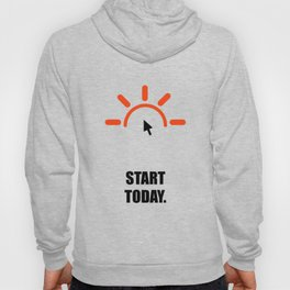 Lab No. 4 - Start today ! Business Quotes Poster Hoody
