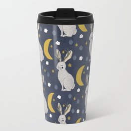 Serene Jackalope Travel Mug