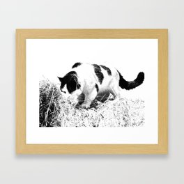 All Good Things are Wild & Free Framed Art Print