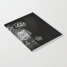 R U Mine? (Black BG) Notebook