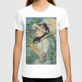 Jeanne (Spring) - Edouard Manet T-shirt