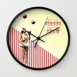 The Ultimate Juggler Wall Clock