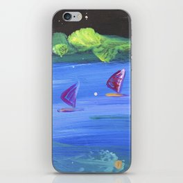 Starlight Windsurf iPhone Skin