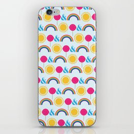 Sunshine lollipops & Rainbows iPhone Skin