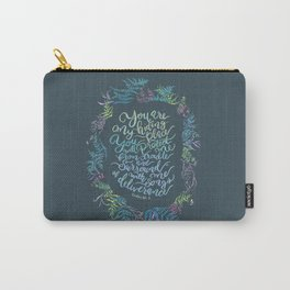 You Are My Hiding Place - Psalm 32:7 Carry-All Pouch