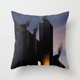 Omens Throw Pillow