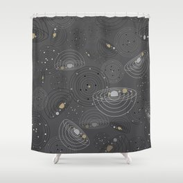 Cosmic Duvet Shower Curtain