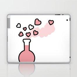 Pink Love Magic Potion in a Laboratory Flask Laptop & iPad Skin