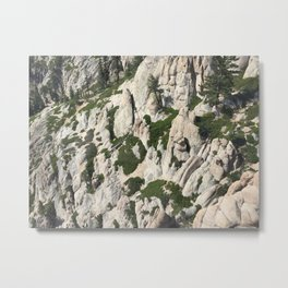 Rugged Sierras Metal Print