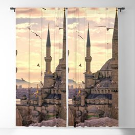 Sultan Ahmed Mosque Istanbul Turkey Ultra HD Blackout Curtain
