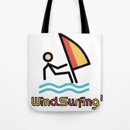 Windsurfing Gift Idea Tote Bag