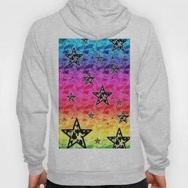 Rainbow Toxic Stars Hoody