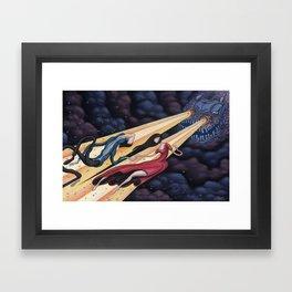 Gravity's Union Framed Art Print
