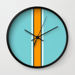 Classic Racing Design Wall Clock