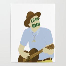 Ben Schneider-lord huron Poster