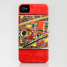 Tribal Geo Melee Slim Case iPhone (4, 4s)