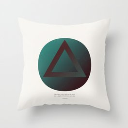 The Night of the Mind Throw Pillow