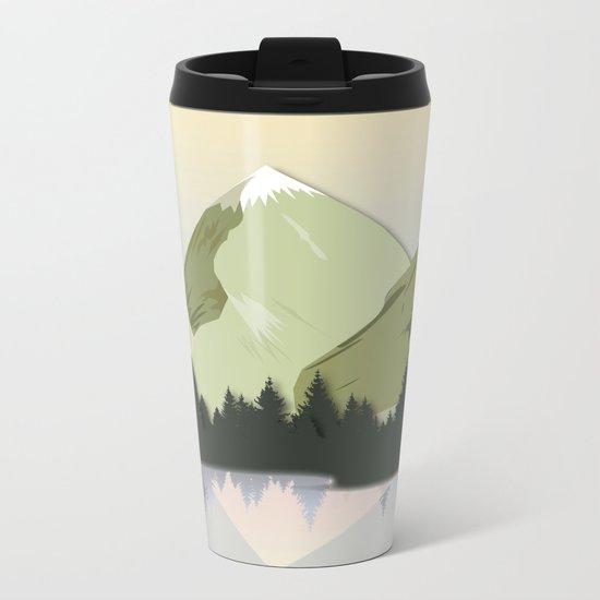 Night Mountains No. 20 Metal Travel Mug