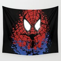 hero Wall Tapestries featuring The Hero by darko888