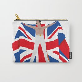 Freddie M. UK flag Carry-All Pouch