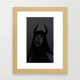 Spectre Eyes Framed Art Print