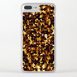 Mosaic Texture G37 Clear iPhone Case