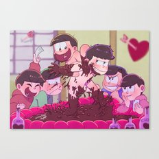 Matsuno bros' Valentine day Canvas Print