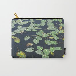 Leaves on water Carry-All Pouch